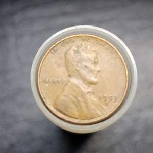 Lot 59 - Roll Lincoln Wheat Cents Mixed Dates