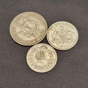 Lot 71 - Vintage SILVER Foreign Coins
