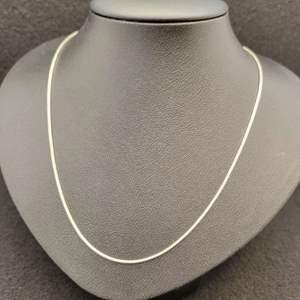 "Lot 84 - Vintage Sterling Silver Snake Chain, 18"", 925"