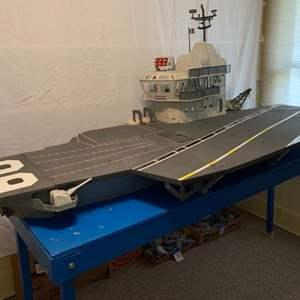Lot #1 - Vintage 1985 G.I. Joe USS Flagg Nimitz-Class Aircraft Carrier