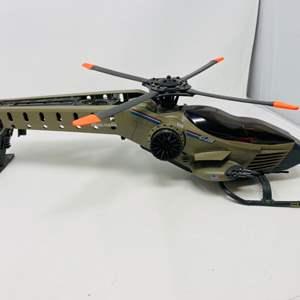 Lot #2 - Hasbro G.I. Joe Vintage 1990 Retaliator Helicopter