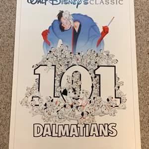 Lot #50 -  Vintage Walt Disney's Classic Poster 101 Dalmatians Technicolor