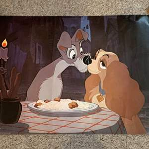 Lot #55 - Disney's Lady and the Tramp Poster Minerva Switzerland Printed in Scotland