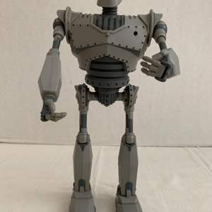 Lot #62 -  Warner Bros The Iron Giant Figure 12.5 Inches Tall 1999