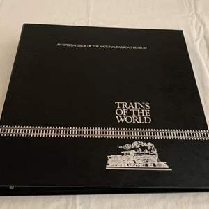 Lot #75 - Trains of the World Certified Stamp Collection Official Issue of the Railroad Museum
