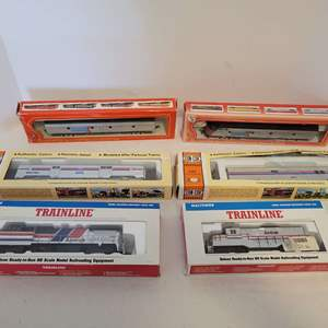 Lot #96 -  Walthers Amtrak HO Scale Railroad Model Equipment, Con-Cor Baggage Car, IHC HO Scale Amtrak