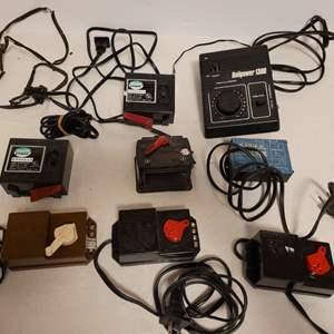 Lot #109 -  HO Scale Power Transformer, Rail Power 1300 Throttle Control, Atlas Transformer N Gauge, Misc Hobby Transformers HO