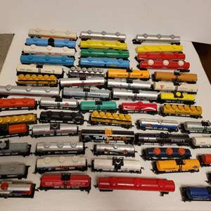 Lot #113 -  HO Scale Railroad Tank Cars, Mobil, Coca-Cola, Exxon, Shell, Firestone, Texaco, Ashland and More