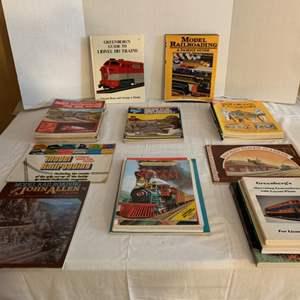 Lot #117 -  Model Railroad Books, Model Railroading, Railroad Station Planbook, N Scale Manual, Model Railroad Track Plans