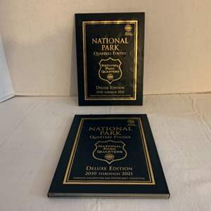 Lot #123 -  National Park Quarters Folder and National Park Quarters from 2010 to 2021