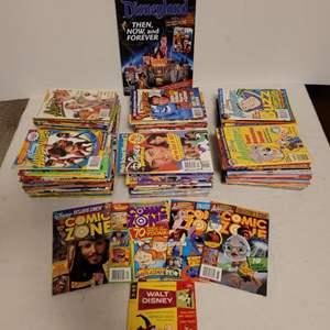 Lot #144 -  Disney Comic Books Including Walt Disney Comic Digest Donald Duck Trick or Treat #16 Published in 1969