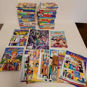 Lot #146 - Archie & Friends Books and Magazines Including Archie New Look Book 5 Goodbye Forever