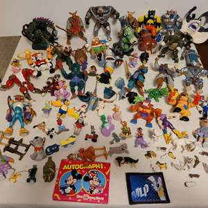 Lot #151 - Collection of Cyborgs, Action Figures, Warriors, Animals and More