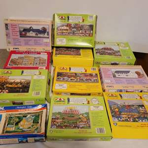 Lot #179 - Vintage Carnival Ride Kits and Other Structure Kits for HO Scale