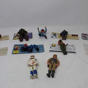 Lot #182 - Nice Selection of Vintage G.I. JOE Figures including Big Ben, Slythor, Dreadnok and More