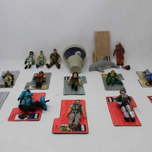 Lot #188 - Figures from G.I. JOE Collection Including Cobra Hazard Viper, Duke, Red Zone and More