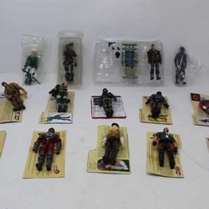 Lot #189 - Hasbro G.I. JOE Figures Including Dart V1, Mirage, Ranger Viper and More