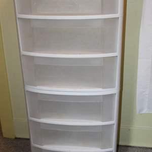 Lot #190 - Two Sterlite Three Drawer Storage Units