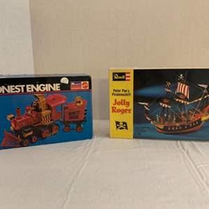 Lot #197 - Vintage Revell Jolly Roger and Monogram Honest Engine Model Kits