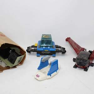 Lot #212 -  Hasbro G.I. Joe VS Cobra Vehicles Including Depth Ray