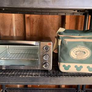 Lot #216 -  Disney's Port Orleans Cooler Lunch Bag & Black & Decker Toaster Oven