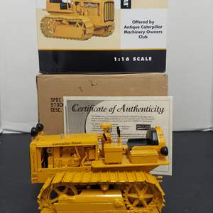 Lot # 166 - Spec Cast 773 CAT Track Type Tractor D2 Certificate of Authenticity * 1:16