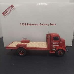 Lot# 36 - Danbury Mint * Anheuser Busch 1938 Budweiser Delivery Truck