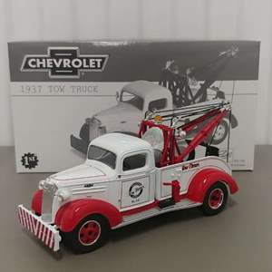 Lot# 45 - First Gear 18-2685 1937 Chevy Tow Truck  1:30 Scale