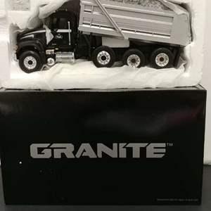 Lot# 46 - First Gear # 19-2972 Mack Granite Dump Truck * 1:34