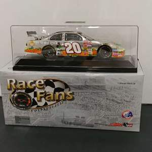 Lot# 47 - Action Collectibles # 103145 2002 Die Cast Grand Prix * Tony Stewart # 20 Home Depot/it's the great Pumpkin * 1:24