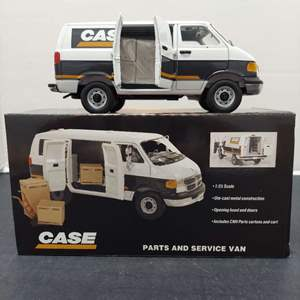 Lot# 57 -  First Gear 19-3207 Case Parts and Service Van 1:25 Scale