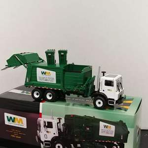Lot# 70 - First Gear # 10-3600 Side Load Refuse Truck * Waste Management * 1:34