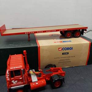 Lot# 89 - Corgi CC12608 Scammell Crusader Flatbed Trailer 1:50 Scale