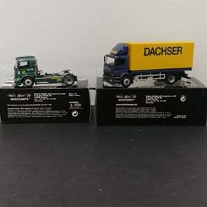Lot# 103 - 2 Qty. Minichamps #439000308 Mercedes Race Truck * 1:43 * #4390022 Mercedes Atego * 1:43