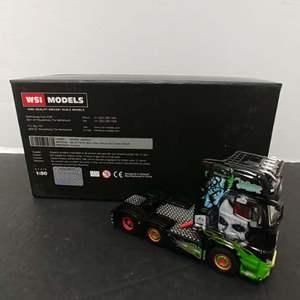 Lot# 114 - WSI Show Truck Series #05-0042 MB Actros MP4 Giga Space 6x2 Twin Steer * Henrik Hansen * 1:50
