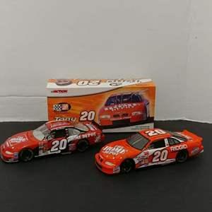 Lot# 122 - 2 Qty. Action Nascar Stock Car * Limited Edition Tony Stewart * 1:24