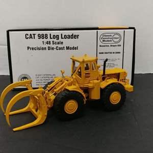 Lot# 124 - CAT 988 Log Loader * Caterpillar * 1:48