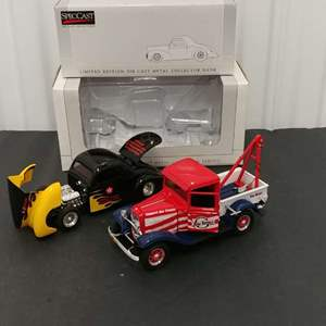 Lot# 150 - 2 Qty. SpecCast Limited Edition # 94066 '41 Willys Coupe Street Rod # 26097 '32 Ford Wrecker * Tow Times
