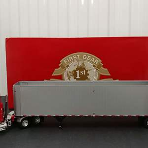 Lot# 158 - First Gear #10-3742 Mack Pinnacle w/East Tipper Trailer * Bio-Cycle * 1:34