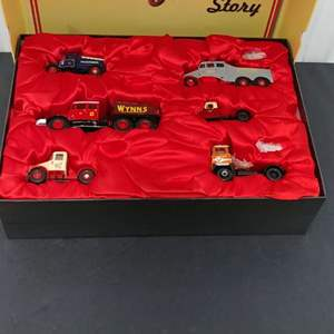 Lot# 177 - Corgi 6 Piece Set # cc99140 * Limited Edition * The Scammell Story * 1:50
