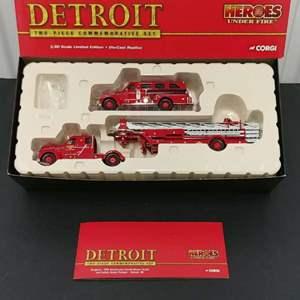 Lot# 181 - Corgi Limited Edition Box Set #US99150 * 1:50
