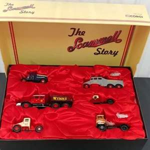 Lot # 211- Corgi 6 Piece Set # cc99140 * Limited Edition * The Scammell Story * 1:50