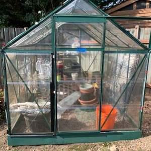 Lot# 2 - Greenhouse (Plastic enclosure)