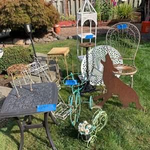 Lot# 5 - Backyard items