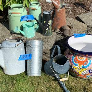 Lot# 13 - Watering Cans