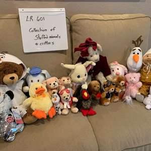 Lot# 57 - Stuffed Friends