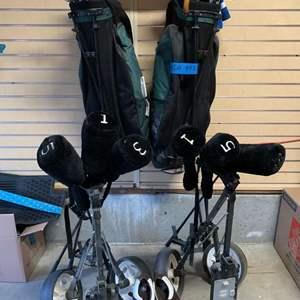 Lot# 156 - Beginning Golfers * 2 Sets Golf Clubs
