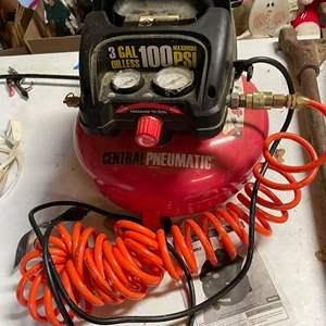 Lot# 173 - Central Pneumatic Air Compressor