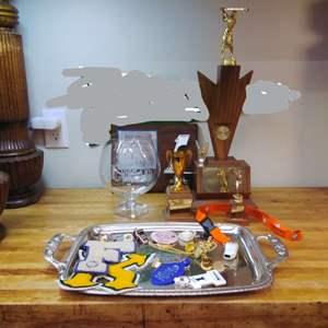 Lot #EL35 - Trophies and School Badges