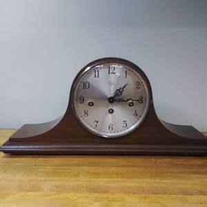 Lot #EL52 - Great Vintage ELGIN Mantle Clock